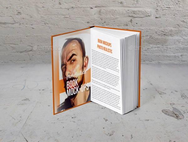 مجموعه موکاپ کتاب گالینگور رقعی