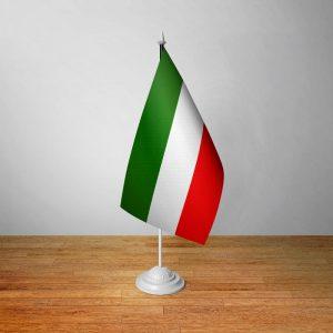 موکاپ و پیش نمایش پرچم رومیزی