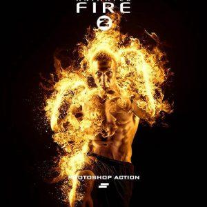 اکشن Gif و انیمیشن شعله